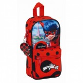 Mini-mochila 4 estojos LadyBug - Torre Eiffel
