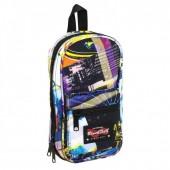 Mini-mochila 4 estojos vazios Blackfit8 - Cities
