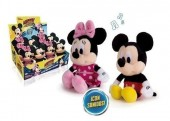 Mini Peluche Minnie Mouse com som - 24cm