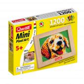 Mini Pixel Art o Cão 1200 Pinos + Placa Quercetti