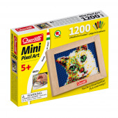 Mini Pixel Art o Gato 1200 Pinos + Placa Quercetti