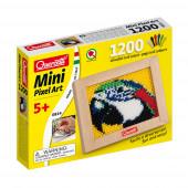 Mini Pixel Art o Papagaio 1200 Pinos + Placa Quercetti