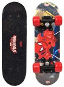 Mini skate em madeira do Spiderman