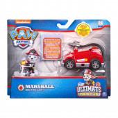 Mini Veículo + Figura Marshall Ultimate Rescue Patrulha Pata