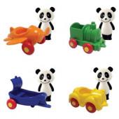 Mini Veiculo + Figura Panda