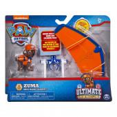Mini Veículo + Figura Zuma Ultimate Rescue Patrulha Pata