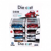 Miniatura carro Die Cast 1:56 sortido