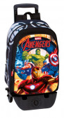 Moch.escolar 42cm+ trolley destacável Avengers Thunder