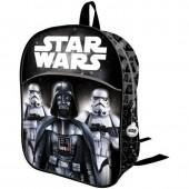 Mochila 32cm pré escolar 3D Star Wars - Darth Vader