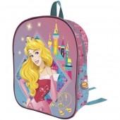 Mochila 3D Eva pré-escolar 32cm - Princesas Disney