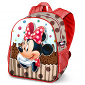 Mochila 3D pré-escolar 30cm Minnie Disney Muffin