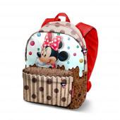 Mochila 3D  pré-escolar 32cm Minnie Disney Muffin