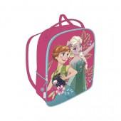 Mochila-bolso pré-escolar 28cm Frozen - Sister Queens