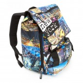 Mochila casual 40cm com aba Spirit - New York