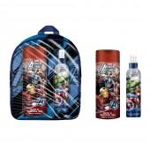 Mochila com Perfume e Gel Avengers