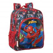 Mochila Escolar 38cm adap trolley Spiderman Go Hero