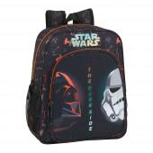 Mochila Escolar 38cm adap trolley Star Wars The Dark Side