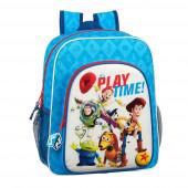 Mochila Escolar 38cm adap trolley Toy Story Play Time
