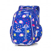 Mochila Escolar 38cm Strike CoolPack LED Unicorns