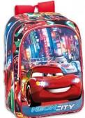 Mochila escolar 3D Disney Cars Tokio