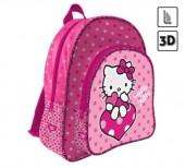Mochila escolar 3D Hello Kitty Dots