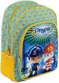 Mochila Escolar 40cm adap trolley Pinypon Action