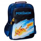 Mochila Escolar 40cm adap trolley Pokémon Pikachu