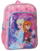 Mochila escolar 40cm irmãs Frozen - Magic