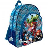 Mochila escolar 41cm adap Avengers