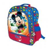 Mochila escolar 41cm adap. Mickey - Oh Boy