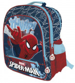 Mochila Escolar 41cm adap Spiderman Thwip