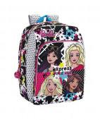 Mochila Escolar 41cm adap trolley Barbie You Can Be