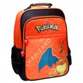 Mochila escolar 41cm adap trolley Pokémon Charizard