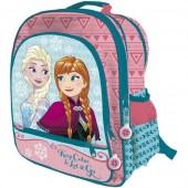 Mochila escolar 41cm adapt. Frozen - Keep Calm Let it Go