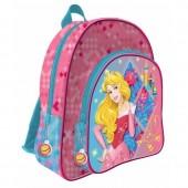 Mochila escolar 41cm adapt. Princesas Disney
