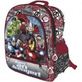 Mochila Escolar 41cm Avengers Adp.- I am an  Avenger