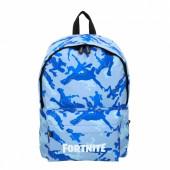 Mochila Escolar 41cm Fortnite Azul
