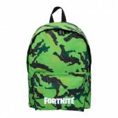 Mochila Escolar 41cm Fortnite Verde