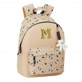 Mochila Escolar 41cm Minnie Happy Days