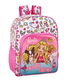 Mochila Escolar 42 cm adap Barbie Celebration