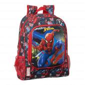 Mochila Escolar 42 cm adap trolley Spiderman Go Hero