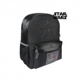 Mochila Escolar 42cm Acolchoada Star Wars