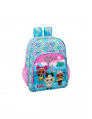 Mochila Escolar 42cm adap trolley  LOL Surprise Hearts