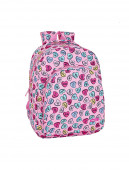 Mochila Escolar 42cm adap trolley Safta Heart Pink