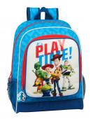 Mochila Escolar 42cm adap trolley Toy Story Play Time