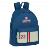 Mochila Escolar 42cm Benetton Varsity