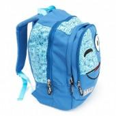 Mochila escolar 42cm Spirit - Emoticons Blue