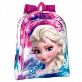 Mochila Escolar 43cm Frozen Disney -  Shining