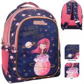 Mochila Escolar 43cm Must Space Girl