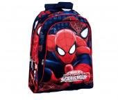 Mochila Escolar 43cm Spiderman Eyes